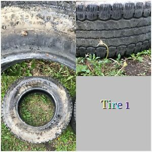 3 Used truck tires