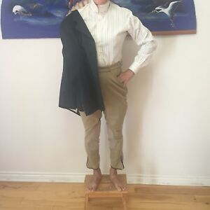 Youth horse back riding jacket,blouse and pants