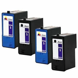 4-PK-Dell-Series-5-Ink-Cartridge-M4640-M4646-For-922-924-944-962-964-942-Printer