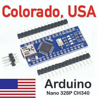 Mini Usb 5v Nano V3.0 Atmega328 16m Ch340g Board For Arduino From Colorado Usa