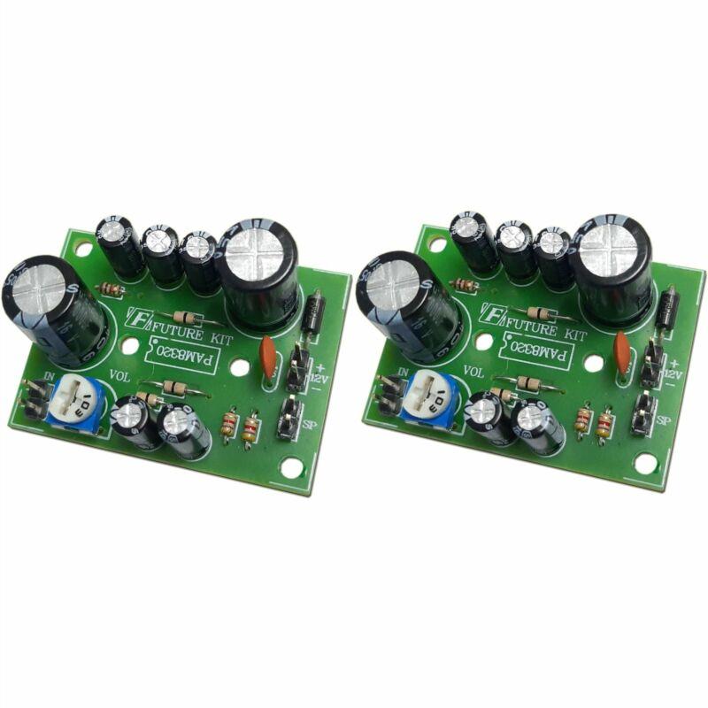 Future Kit Stereo Audio Amplifier DIY kit 20+20W Class D Gain 12V Flux Workshop