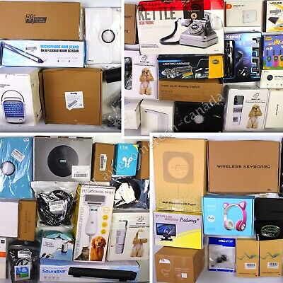 HUGE Wholesale Lot of Assorted Consumer Electronics, 55 items, MSRP over $1400!