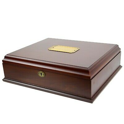 Decorebay Antico Wooden Lockable Memory and Treasure Box