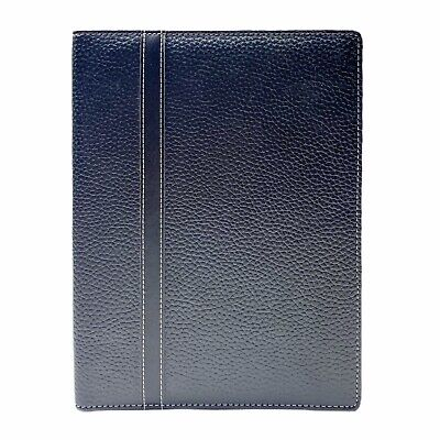 Franklin Covey Day One Black Simulated Leather Polkadot Wirebound Cover 10
