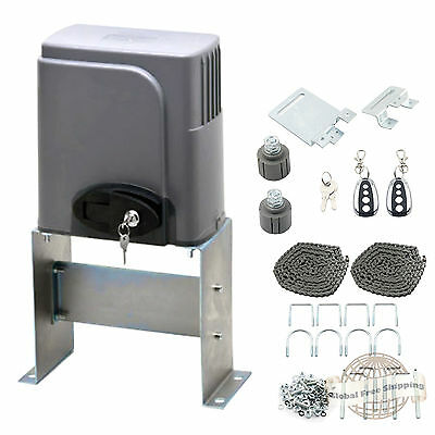 Automatic Sliding Gate Opener 1400Lbs Motor Auto Close Security System