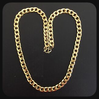 New 18k yellow gold plated necklace  Darch Wanneroo Area Preview