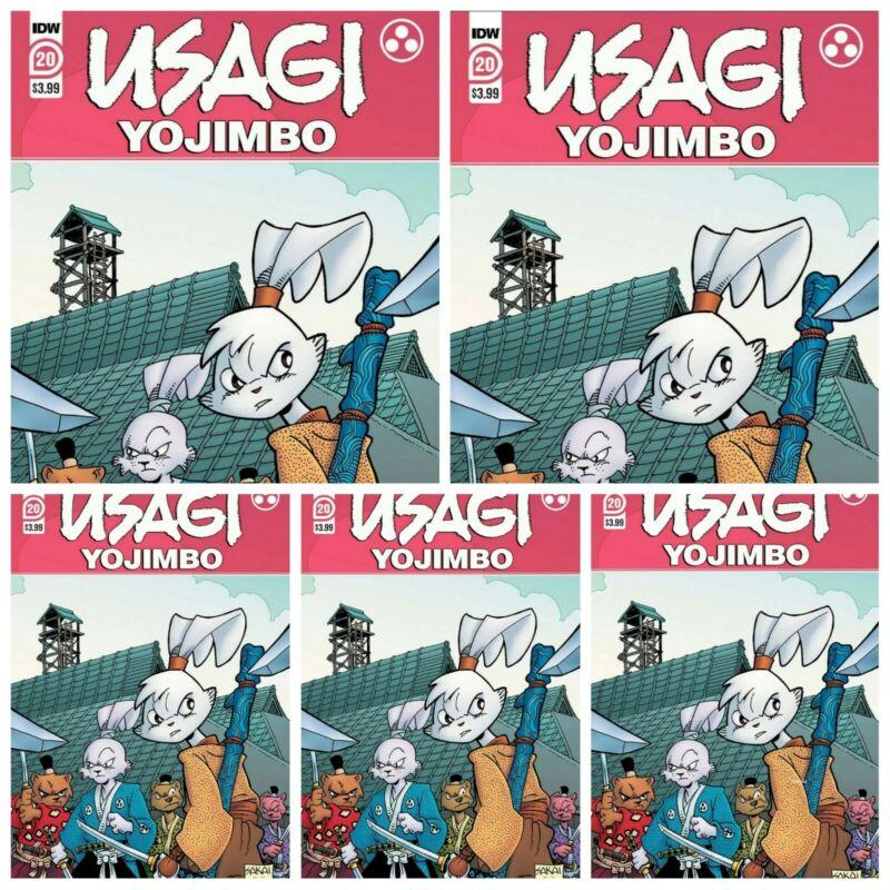 Usagi Yojimbo #20 Single Issue or Bundle Options IDW Sakai Yukichi Presale 6/16