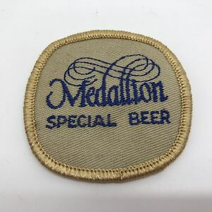 Old-MEDALLION-Special-Beer-Patch-Collectible-RF623
