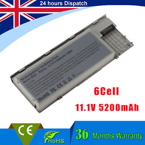 6Cell Battery for Dell Latitude PC764 TC030 D620 D630 D640 D631 Precision M2300