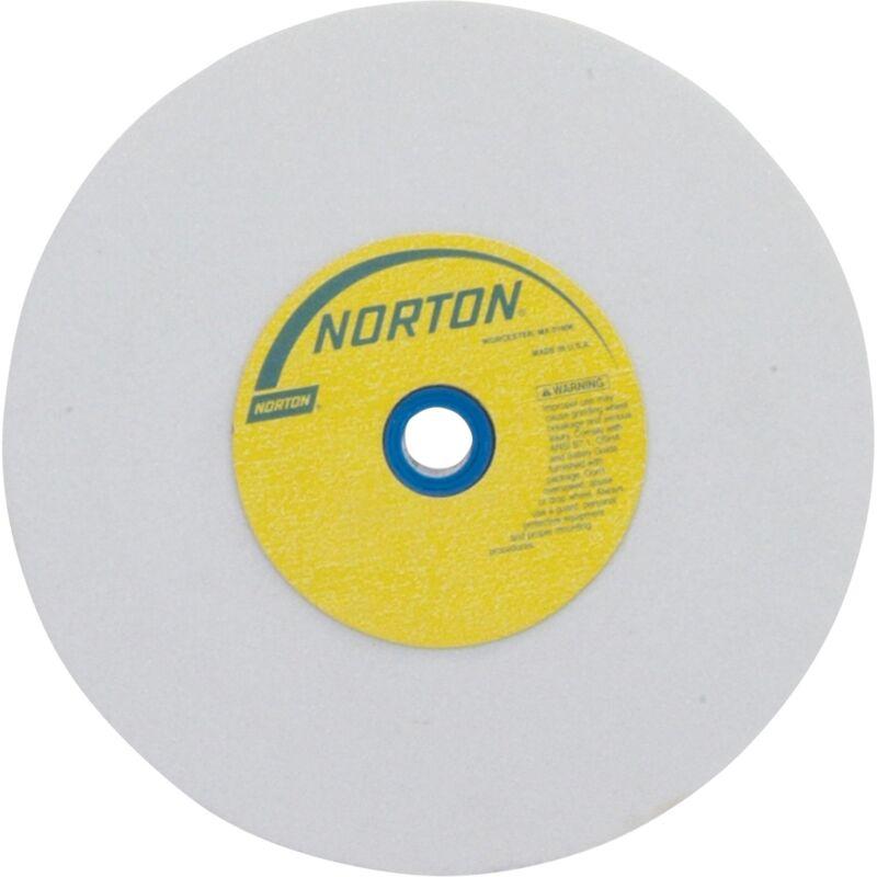 Norton Grinding Wheel - 6in. x 1in., White Aluminum Oxide, 150 Grit