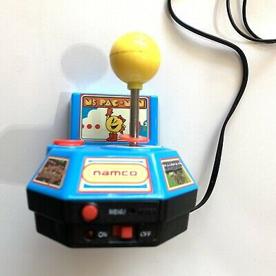 Namco Ms. Pac-man 5 in 1 Plug N Play TV Video Game by Jakks Pacific - Tested!