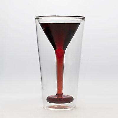 Glasstini Neuheit Martini Glas Spaß Party Getränk Lustiges Geschenk Brandneu