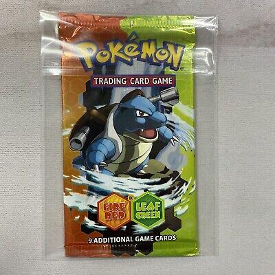 Pokemon EX Fire Red Leaf Green EX Blastoise Booster Pack - Sealed & Unweighed