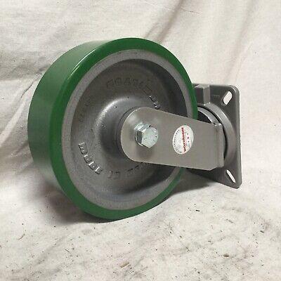 Hamilton S-ch-13db Standard Plate Caster Swivel Polyurethane 3000 Lb 10 In Wheel