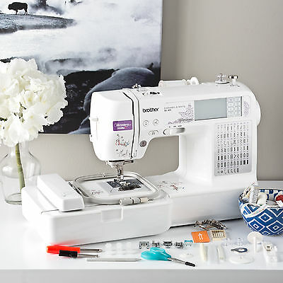 computerized sewing and embroidery machine se400