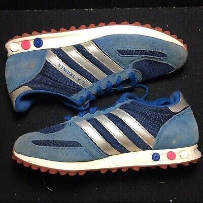 Adidas Men's Sneakers Los Angeles Shoes Light Blue LA Trainer Size US Mens 8