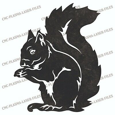 Squirrel Nuts Dxf Sign Plasma Laser Waterjet Router Plotter Cut Vector Cnc File
