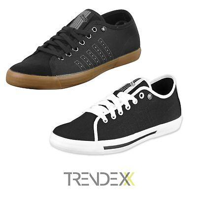 K-Swiss Skimmer Canvas Low-Top-Sneaker Schuhe schwarz NEU & OVP Canvas Low Top Sneaker