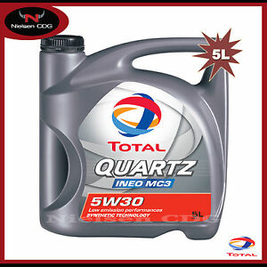 total quartz ineo mc3 5w30 car engine motor oil 5 litre. Black Bedroom Furniture Sets. Home Design Ideas