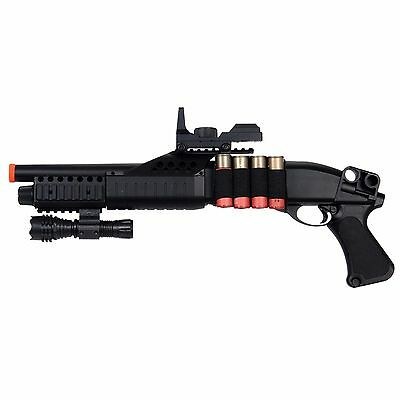Toy Gun Airsoft Shotgun 4 SHELL MAGAZINES Spring Rifle Pump Action - Airsoft Shotgun Rifle Toy
