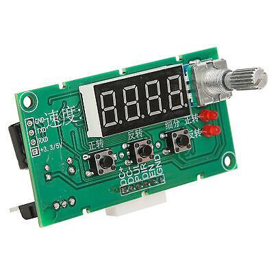 Dc8-24v Digital Stepper Motor Speed Controller Governor Driver Control Module