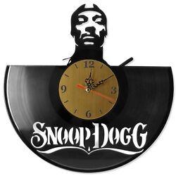 NEW  Vinyl Record Wall Clock Snoop Dogg, modern decorative art ~ 12