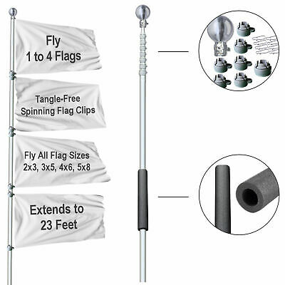 Tailgating Portable Flagpole for Tailgate Events