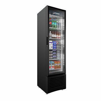 Imbera Commercial Refrigerator Slim Line Glass Door Display 8 Cft Model Vr08