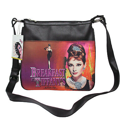 AUDREY HEPBURN Licensed Radio Days Aliz Crossbody Shoulder Messenger Bag NWT
