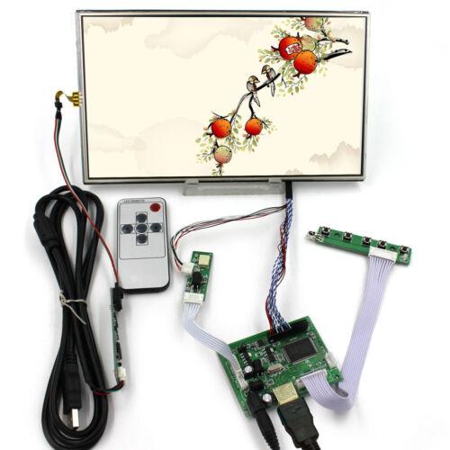 "HD MI LCD Controller Board 10.1"" 1366x768 IPS LCD Screen Resistive Touch Sensor"