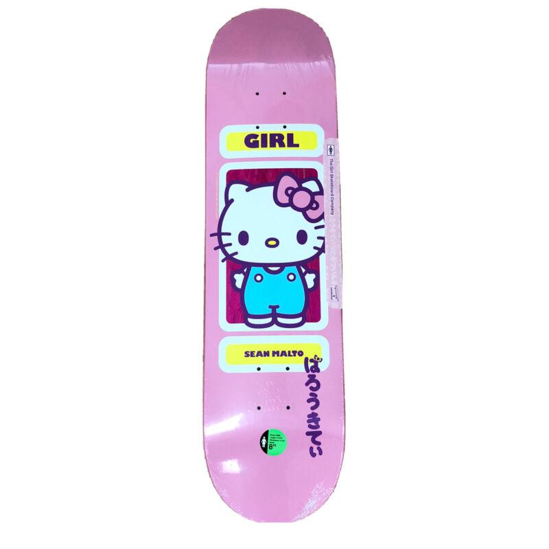"New Girl Skateboard Limited Sanrio Hello Kitty Sean Malto 60th Anniversary 8"""