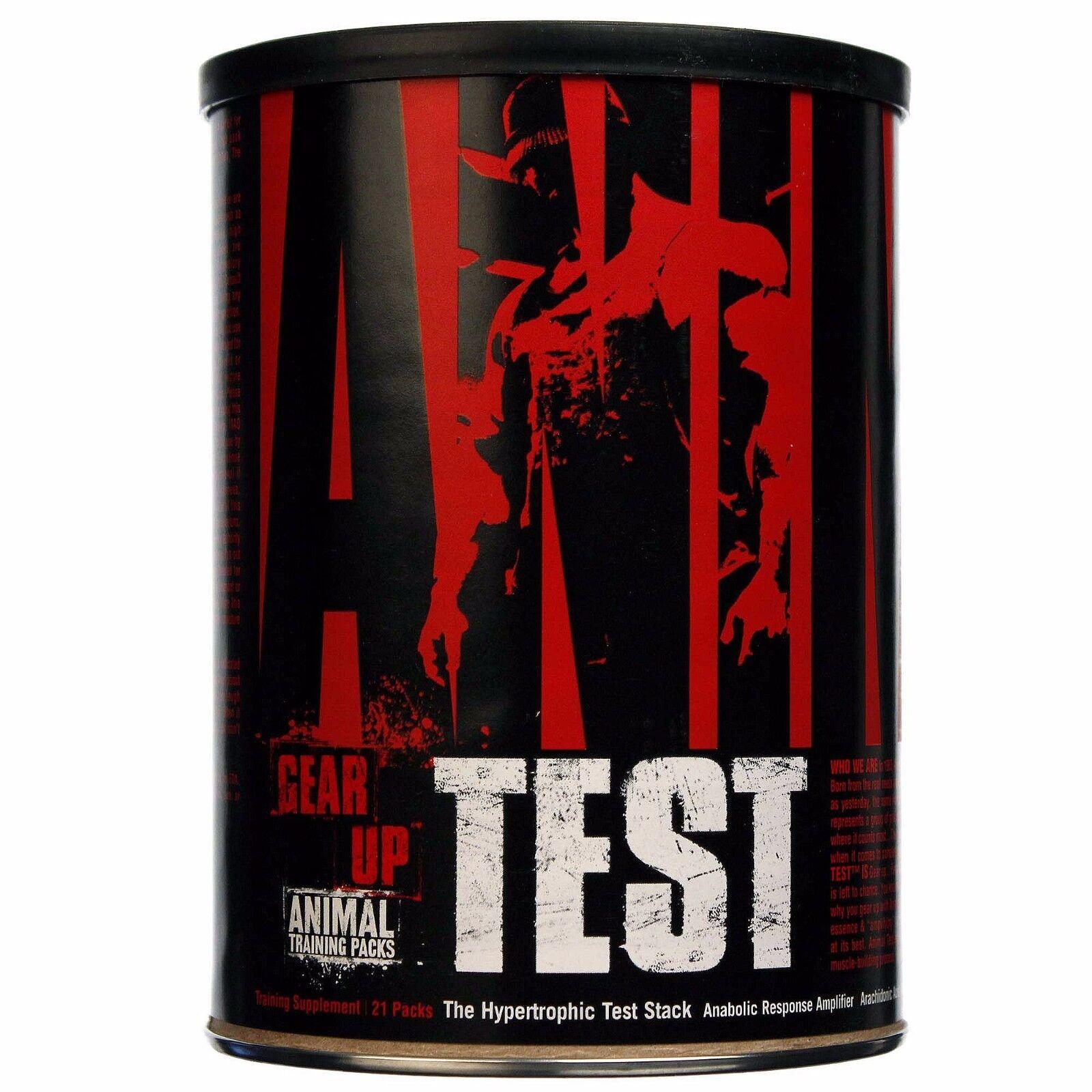 Animal Test 21 Packs Universal Nutrition Testosterone Boost