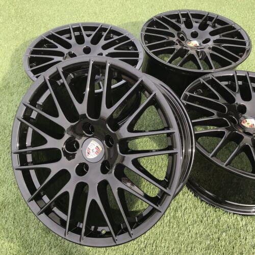 "20"" Porsche Cayenne GTS RS Spyder BBS Genuine Factory Stock Rims Black set 20"