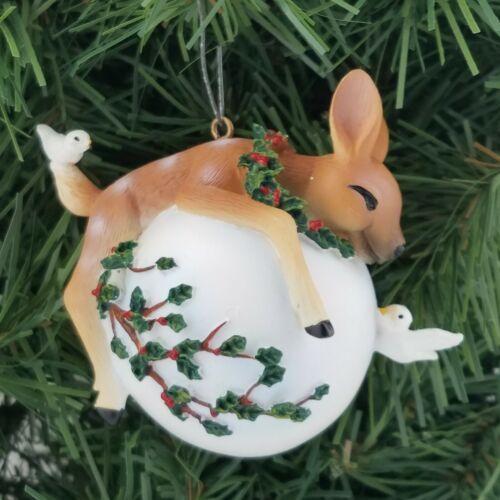 DG collection Bambi Fawn deer Christmas Ornament