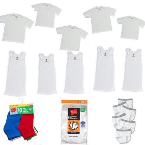 32 PC Toddler Boys Underwear Briefs Socks A-Shirts T-Shirts Lot Bundle 2T 3T 4T