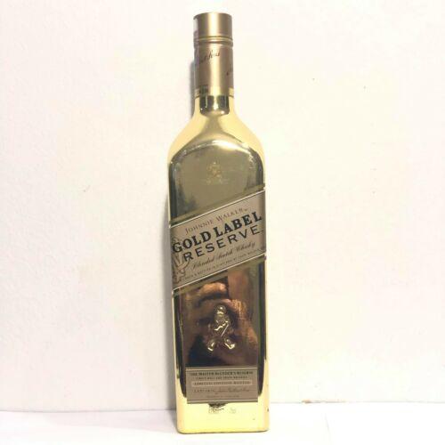 Johnnie Walker Gold Label Reserve Empty Golden bottle 75cl.Limited Edition