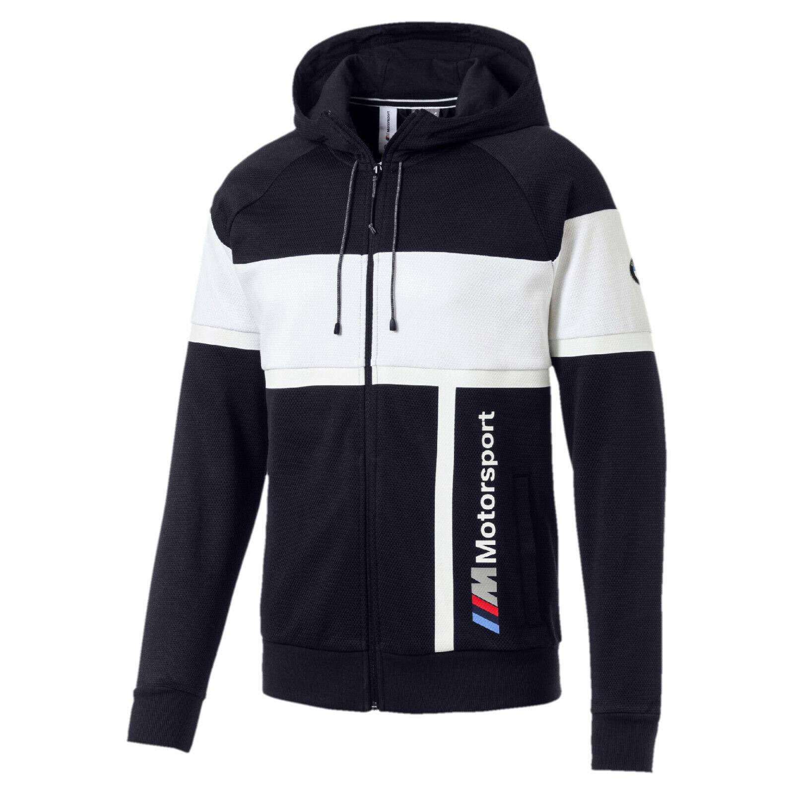 BMW M Motorsport Herren Kapuzen-Sweatjacke von Puma