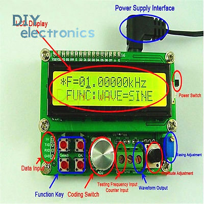 Dds Function Signal Generator Module Arbitrary Waveform Sine Triangle Us