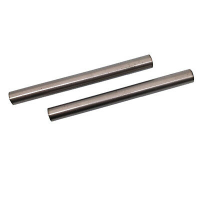 Us Stock 2x Dia 10mm 0.39 Length 100mm 3.94 Tc4 Titanium 6al-4v Round Bar Rod