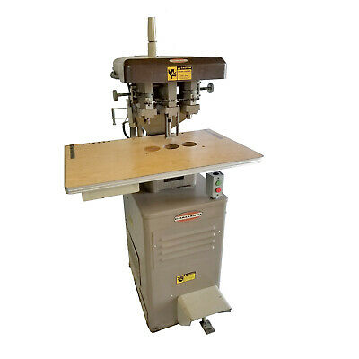 Will Ship Challenge Eh3a Industrial 3 Head Electric Paper Drillpunch 2
