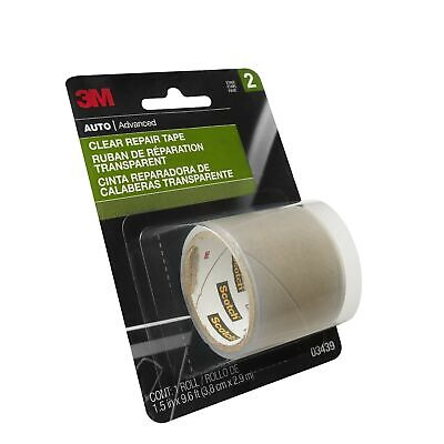 3M Clear Repair Tape, Highly Durable, 1.9in x 60in, 1 Roll