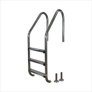 NEW STAINLESS STEEL SWIMMING POOL LADDER 3 AND 4 STEP ABOVE OR BE Beldon Joondalup Area Preview