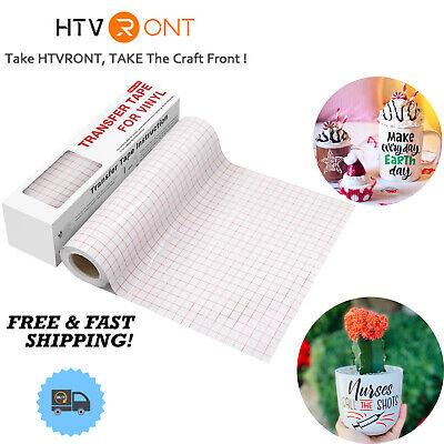 Htvront Transfer Tape For Vinyl 6 X 50feet - Craft Application Paper For Cricut