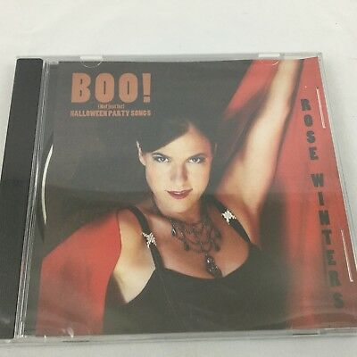 Rose Winters Boo! Not Just For Halloween Party Song CD Sealed New - Song For Halloween