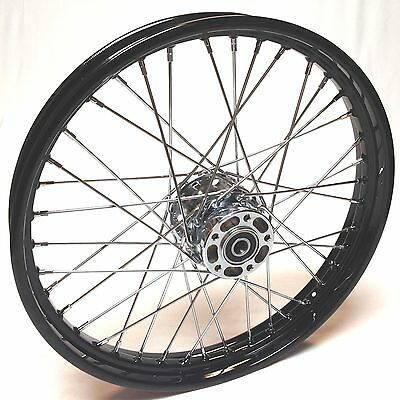 Wheel Rebuild service 21 x 2.15 Black Wheel for Harley Softail, Dyna, Sportster