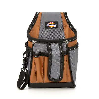 Photo Dickies 57098 7-Pocket Tech Tool Belt Pouch with Tape Tether
