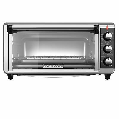 BLACK+DECKER TO3250XSB 8-Slice Extra Wide Convection Countertop Toaster (Black And Decker Extra Wide Convection Oven)