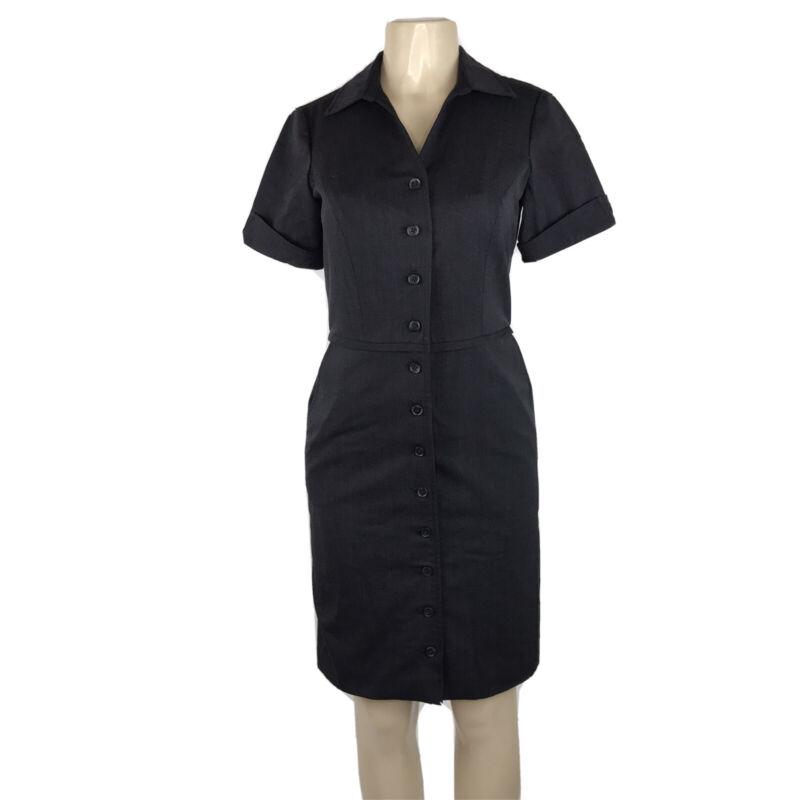 American Airlines Flight Attendant Dress Size 4 Crew Uniform Shirt Stewardess