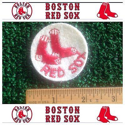 Red Sox Mlb Applique - Boston Red Sox MLB Baseball 1960-1975 Throwback Logo Sew 2