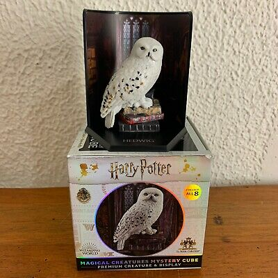 Harry Potter HEDWIG Magical Creatures Mystery Cube The Noble Collection NEW